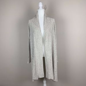 Lane Bryant light grey heathered cardigan